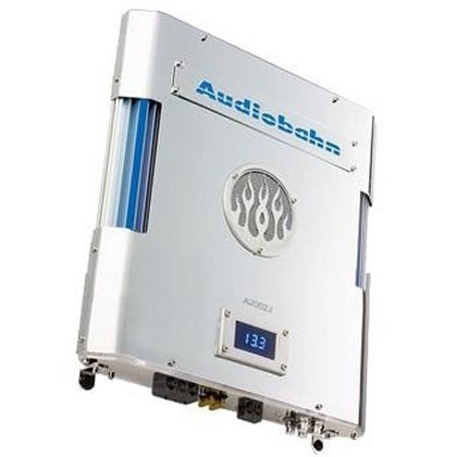 2007-9999 Saturn Aura Audiobahn 500W 2-Channel Intake Series Car Amplifier