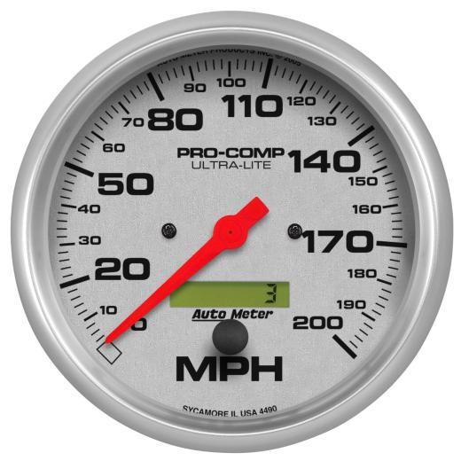 4490 Auto Meter Gauges