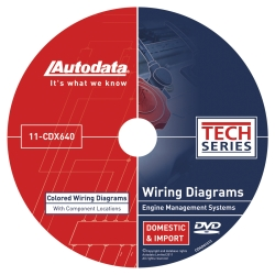 Universal (All Vehicles) Autodata Engine Management System Wiring Diagram for Domestic and import Vehicles