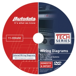Universal (All Vehicles) Autodata 2011 Wiring Diagrams Body, Audio/Visual, Climate Control