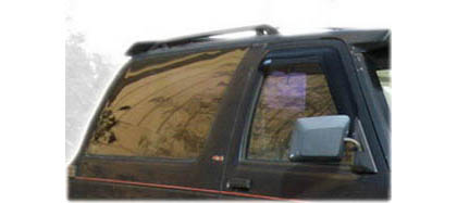 82-93 S10 Pickup Regular Cab AVS Sunroof Deflectors - Ventvisor 2PC (Smoke)