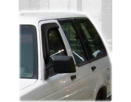 92-94 Blazer Regular / 2/3DR Extended Cab AVS Sunroof Deflectors - Ventvisor 2PC (Smoke)