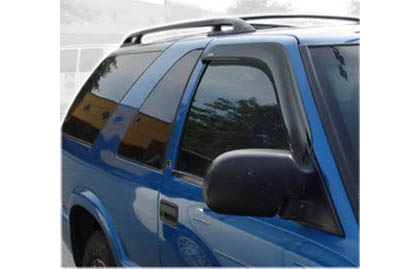 94-04 S10 Pickup Regular / 2/3DR Extended / Crew Cab AVS Sunroof Deflectors - Ventvisor 2PC (Smoke)