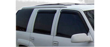 95-00 Tahoe 4DR Old Body Style AVS Sunroof Deflectors - Ventvisor 4PC (Smoke)