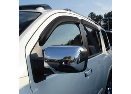 04 Pathfinder 4DR AVS Sunroof Deflectors - Ventvisor 4PC (Smoke)