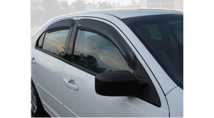 06-08 Fusion 4DR Sedan AVS Sunroof Deflectors - Ventvisor 4PC (Smoke)