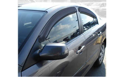 04-06 3 4DR Sedan AVS Sunroof Deflectors - Ventvisor 4PC (Smoke)