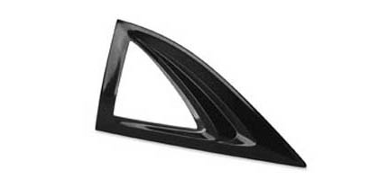 06-08 Civic 2DR AVS Sunroof Deflectors - Aeroshade Cut Out Style (Black)