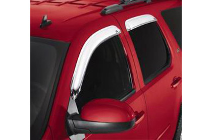 02-08 Trailblazer 4DR AVS Sunroof Deflectors - Ventvisor 4PC (Chrome)