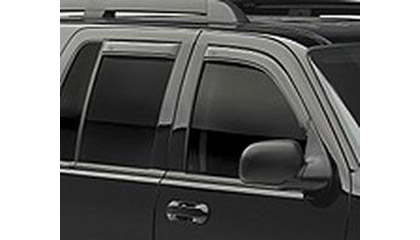 02-06 Envoy 4DR 3 Row Interior Seats AVS Sunroof Deflectors - Ventvisor 4PC (Smoke)