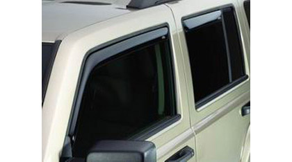 07-08 Compass 4DR AVS Sunroof Deflectors - Ventvisor 4PC (Smoke)