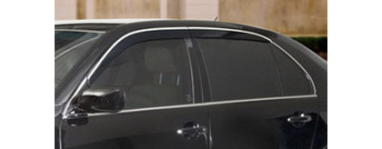 01-06 Ls430 4DR Sedan AVS Sunroof Deflectors - Seamless Ventvisor 4PC (Smoke)