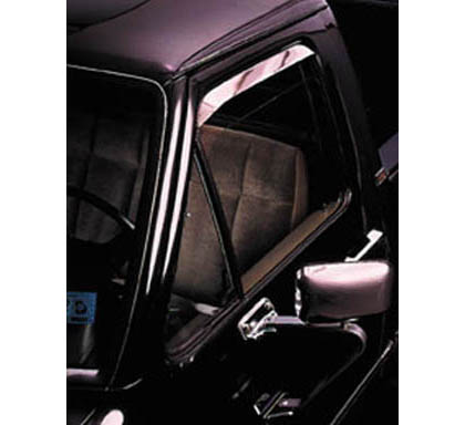 87-95 Pathfinder Regular / Extended Cab AVS Sunroof Deflectors - Ventshade 2PC (Stainless)