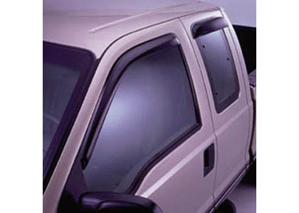 91-96 Escort 4DR Sedan AVS Sunroof Deflectors - Ventvisor 4PC (Smoke)