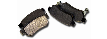 2003-2004 Nissan 350Z Non-Track Model  Axxis Ultimate Brake Pads - Front