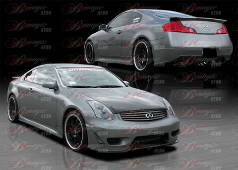 03-07 G35 2DR B Magic Wondrous Body Kit - FULL KIT