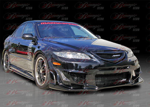 02-06 Mazda 6 B Magic Vascious Body Kit - FULL KIT