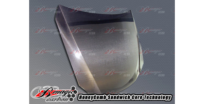 06-Up IS350 B-Magic Carbon Fiber Hoods - OEM