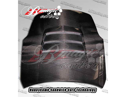 02-07 350Z B-Magic Carbon Fiber Hoods - Battle Series