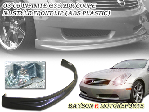 03-05 Infiniti G35 2DR Bayson R N1 Body Kit - Front Lip