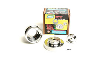 86-96 Ford F-150 BBK Pulley Kits - 3 Piece Underdrive (Aluminum)