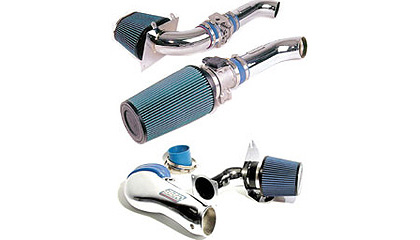 03 Ford Mustang Cobra BBK Cold Air Intakes - Power Plus Series (Chrome)