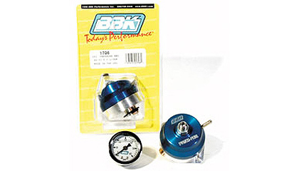 86-93 Ford Mustang 5.0L V-8 BBK Fuel Pressure Regulators - Power Plus Series (Adjustable)