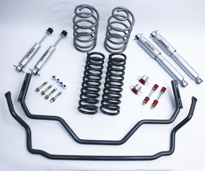 "67 Malibu A-Body Belltech Performance Handling Kit (Front Lowering: 2"")"