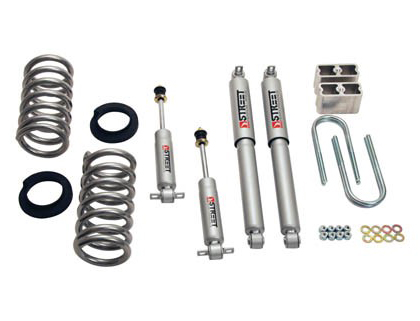 "98-03 S-15 Jimmy 2WD 6 Cyl. Belltech Stage 2 Lowering Kit w/ Street Performance Shocks (Front Lowering: 4"" or 5"""" / Rear Lowering: 5"")"