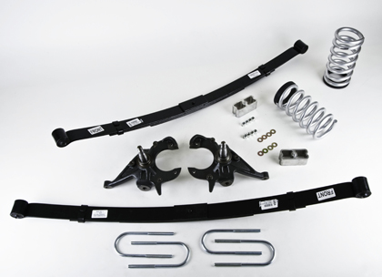 "82-94 S-15 Jimmy 2WD 4/6 Cyl. Belltech Stage 3 Lowering Kit w/Nitro Drop 2 Shocks (Front Lowering: 4"" or 5"""" / Rear Lowering: 5"")"