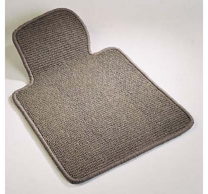 ?01-?02 MDX (Medium SUV) 2nd Seat Berber Custom Floormats - 1-Piece Rear - Black