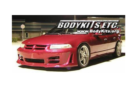 1995-2000 Dodge Stratus BKO R34 Body Kit - Front Bumper