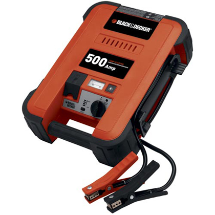 Universal - Fits all Vehicles Black and Decker 500 Amp Jump Starter
