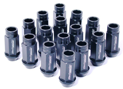 89-96 Nissan 240SX Blackworks Racing Lug Nut - 12 x 1.25 (Black)
