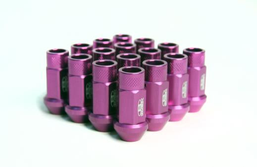 91-Up Isuzu Stylus Blox Racing Street Series Forged Lug Nut - 12 x 1.5mm (Purple)