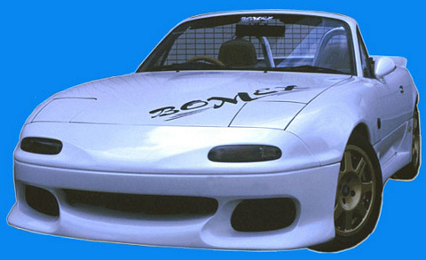 90-98 Mazda Miata Bomex Kit 1 Body Kit - FULL KIT