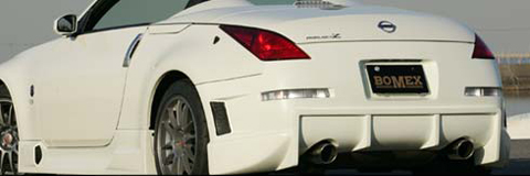 2003-2008 Nissan 350z Bomex Body Kit - Rear Bumper Spoiler