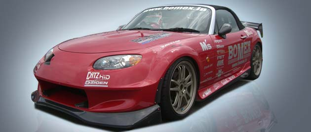 06-Up Miata Bomex Body Kits - FULL KIT