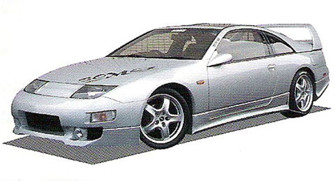 90-96 Nissan 300ZX Z32 Bomex Body Kits - Front Bumper Without Lk