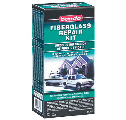 All Jeeps (Universal) Bondo Fiberglass Resin Repair Kit, 1/2 Pint (US) Can - 6 Per Case