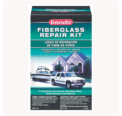 All Jeeps (Universal) Bondo Fiberglass Resin Repair Kit, Quart (US) Can - 6 Per Case