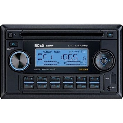 1968-1969 Ford Torino Boss MP3-Compatible In-Dash Cd Receiver With USB And SD Memory Card Ports And Front Panel Aux Input