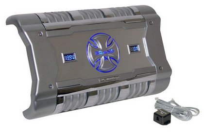 All Jeeps (Universal) Brand-X 3380 Watt Mono Block Digital Amplifier with Digital Voltage/Amperage Display