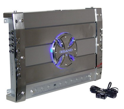 All Jeeps (Universal) Brand-X 5 CHANNEL AMP 121 WATTS X 4 + 473 WATTS