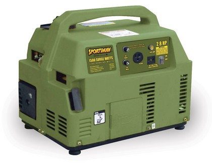 2000-9999 Ford Excursion Buffalo Tools 1100W Portable Gas Generator