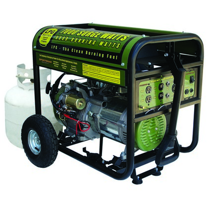 All Cars Buffalo Tools 7,000 W Generator  Lp Gas