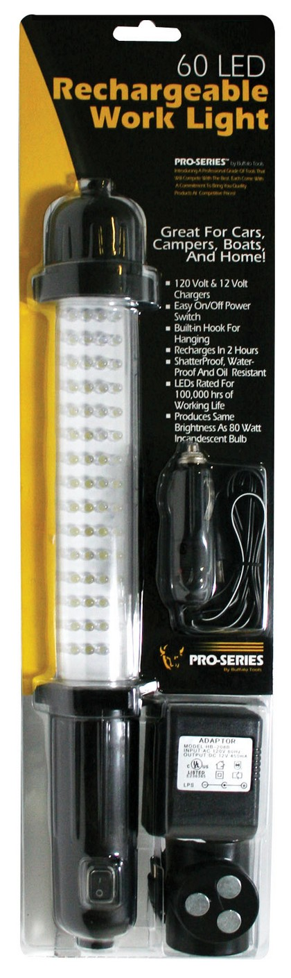 2000-2002 Hyundai Tiburon Buffalo Tools 60 Led Work Light