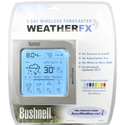 Universal (All Vehicles) Bushnell Outdoor 5-Day Wireless Forecaster Weather FX