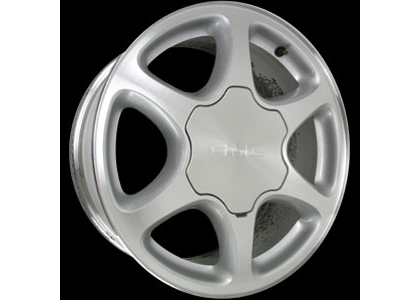 01-06 Gmc Yukon (XL, 1500) Capital Factory Wheel - 17x7-1/2, 6-Spokes, 6-lug, 5-1/2 bolt pattern Machine Finish
