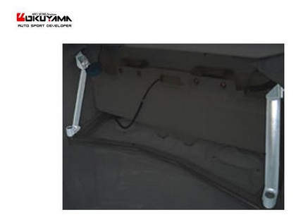 00-08 Impreza GDB Carbing Trunk Pillar Bar